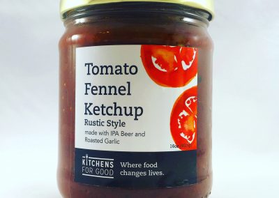 Tomato Fennel Ketchup Rustic
