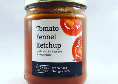 Tomato Fennel Ketchup Smooth