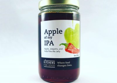 Apple of My IPA Jelly